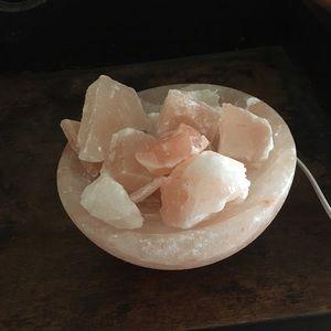Rose salt quartz